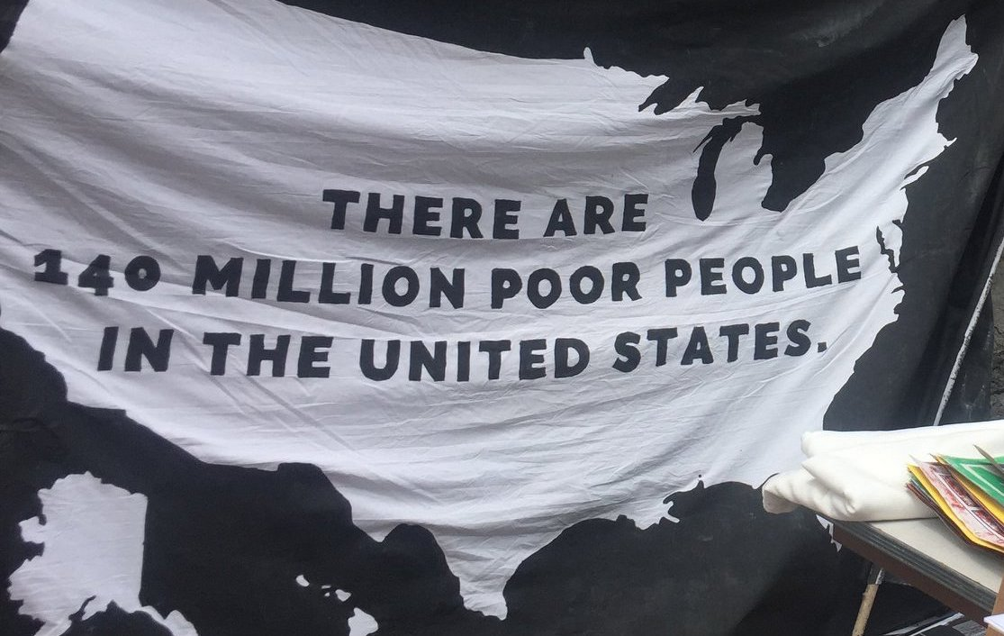 There are 140 million poor people in the US