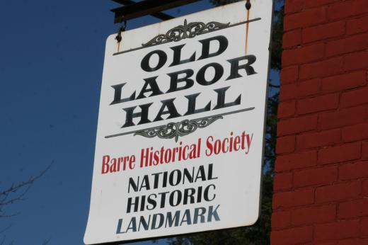Old Labor Hall in Barre