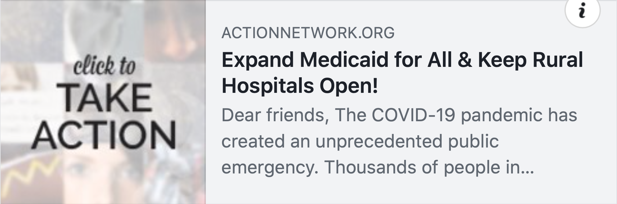 Expand Medicaid for All and Keep Rural Hospitals Open